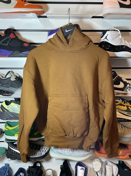 DS Gap YZY Light Brown Hoodie Sz Small