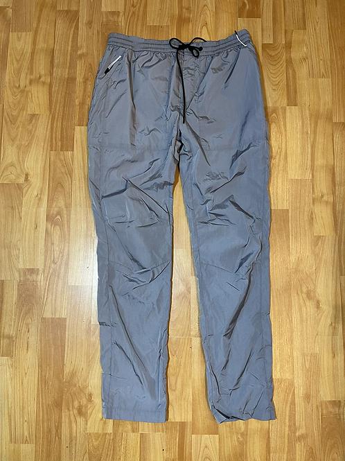 Kith Nylon Grey Mercer Pant Sz Medium