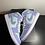 Thumbnail: DS Purple Aqua AJ1 Mid Sz 8M / 9.5W