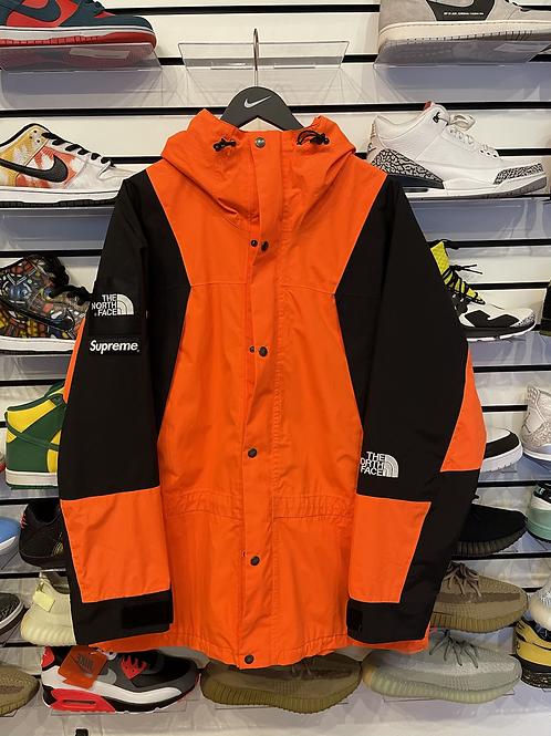 Supreme Orange TNF Parka Sz XL