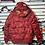 Thumbnail: Bape Red Puffer Jacket Sz XL