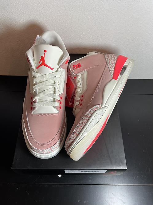DS Rust Pink AJ3 Size 9.5W / 8M
