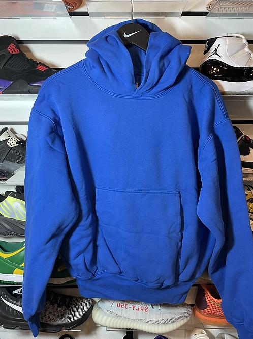 DS Gap YZY Blue Hoodie Sz Small