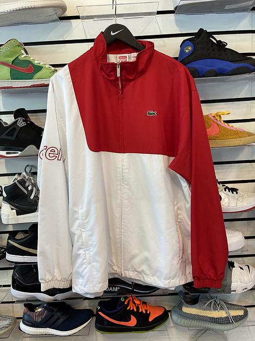 Supreme Lacoste Jacket Red Sz XL