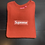 Thumbnail: Rust Supreme Box Logo Crew Sz Small
