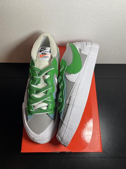 DS Sacai Green Blazer Low Sz 9