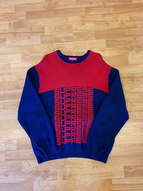 Supreme Knit Sweater Size XL
