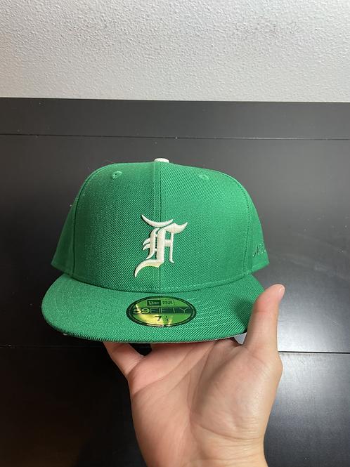 DS FOG x New Era Green Fitted Sz 7 1/4