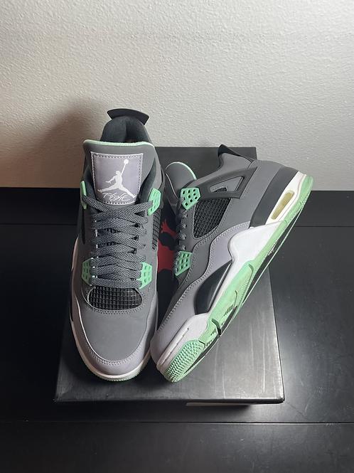 Green Glow AJ4 Sz 8