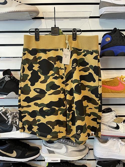Bape Camo Shorts Sz Large