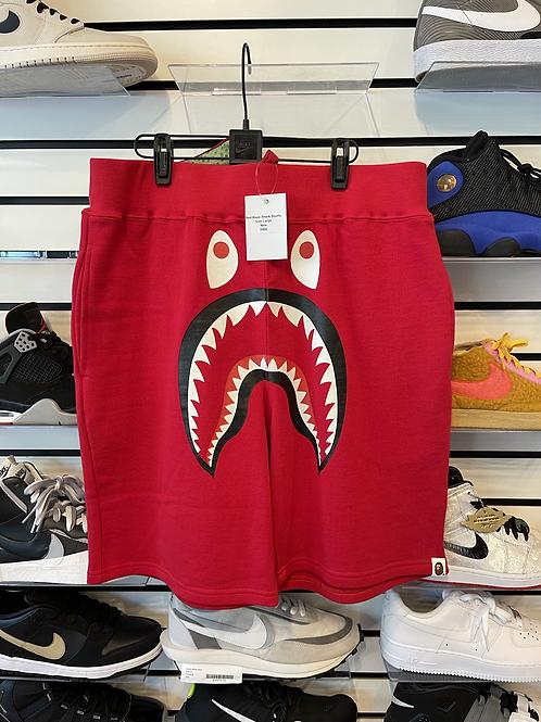 Bape Shark Shorts Sz Large