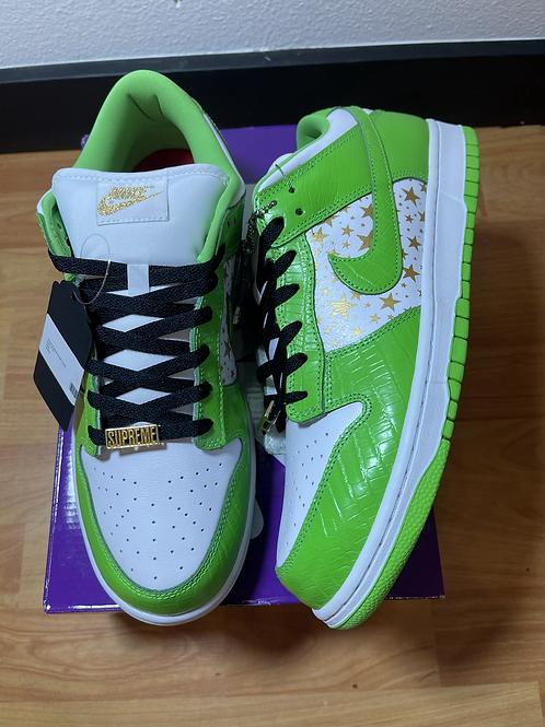 DS Green Supreme SB Dunk Sz 11.5