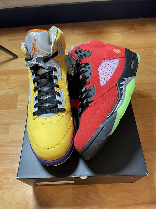 DS What The AJ5 Size 10.5