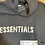 Thumbnail: DS Fear of God Black Knit Hoodie Sz Small