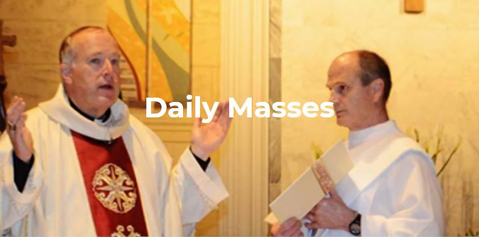 Diocesan Daily Masses