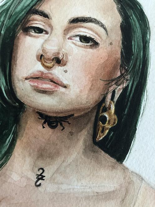Autorretrato 3  |  impressão fine art