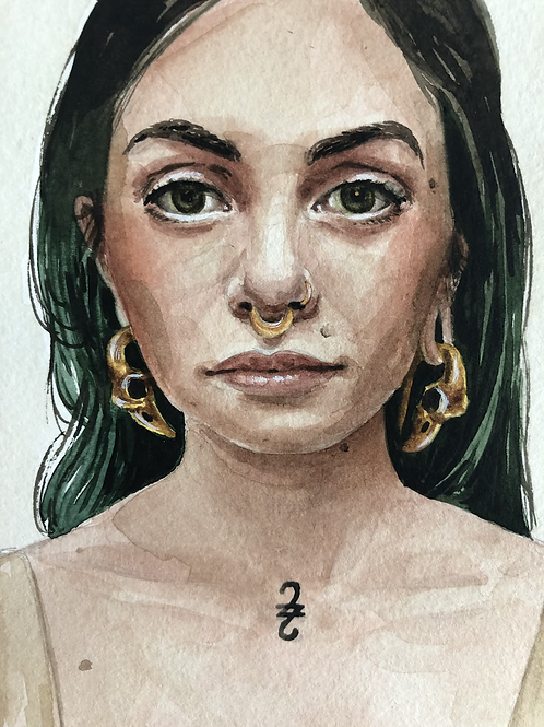 Autorretrato 1    impressão fine art