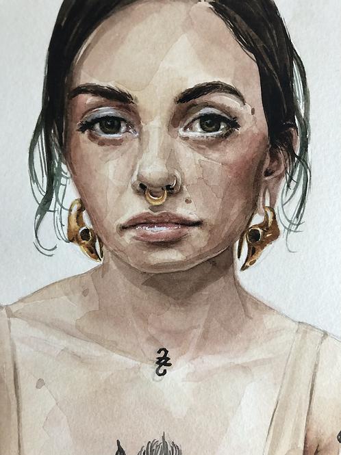 Autorretrato 2  |  impressão fine art
