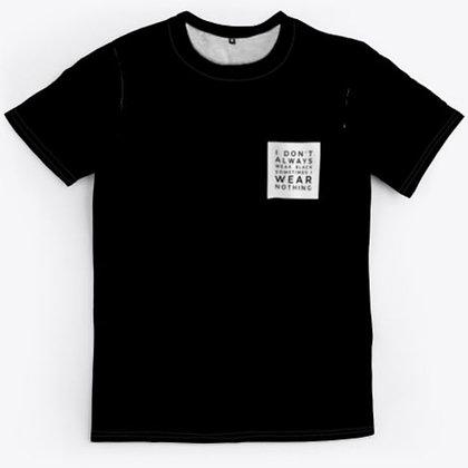 Wear Black Or Wear Nothing