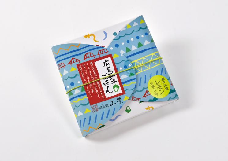 株式会社山豊「広島菜ごはん」パッケージ