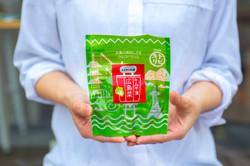 株式会社中元本店「トビキリ キムチ漬広島菜」パッケージデザイン