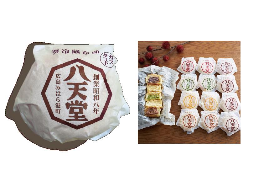 株式会社八天堂「くりーむパン」パッケージデザイン
