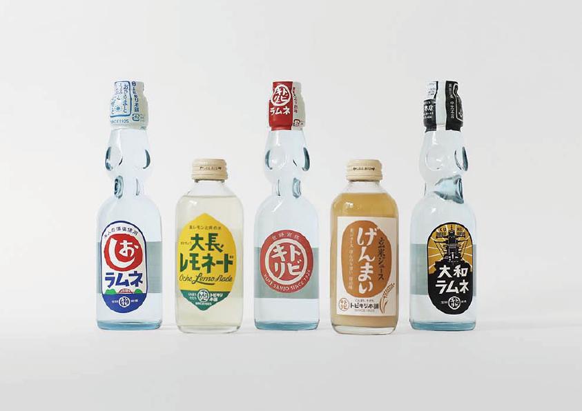 株式会社中元本店「トビキリ」ラムネシリーズ パッケージデザイン