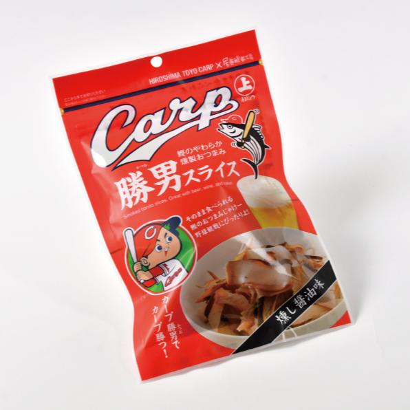 株式会社まるじょう「カープ勝男」パッケージ