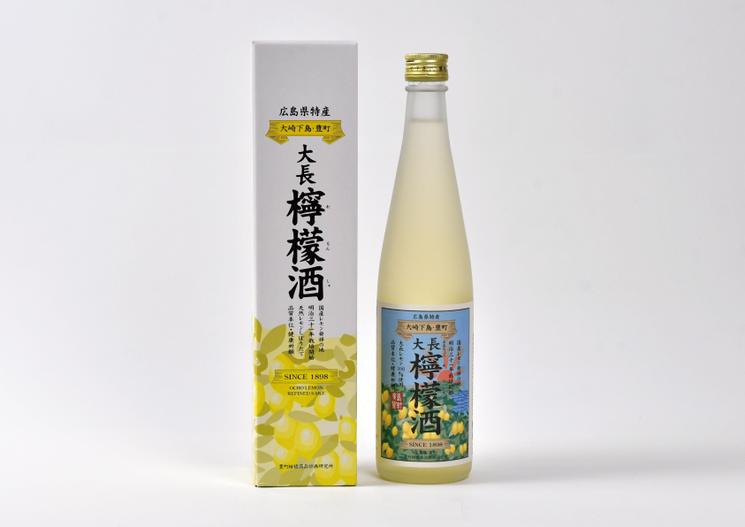 中尾醸造株式会社「大長檸檬酒」パッケージ