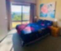 Bedroom in Unit 2 at Bumblebrook Farm Mo