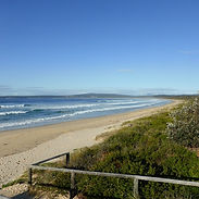 Merimbula beach near Bumblebrook Farm Mo
