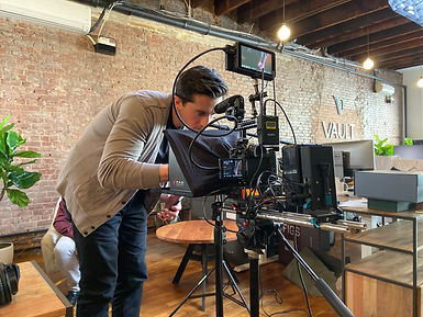 Nucleus Pictures instagram, video production, behind-the-scenes
