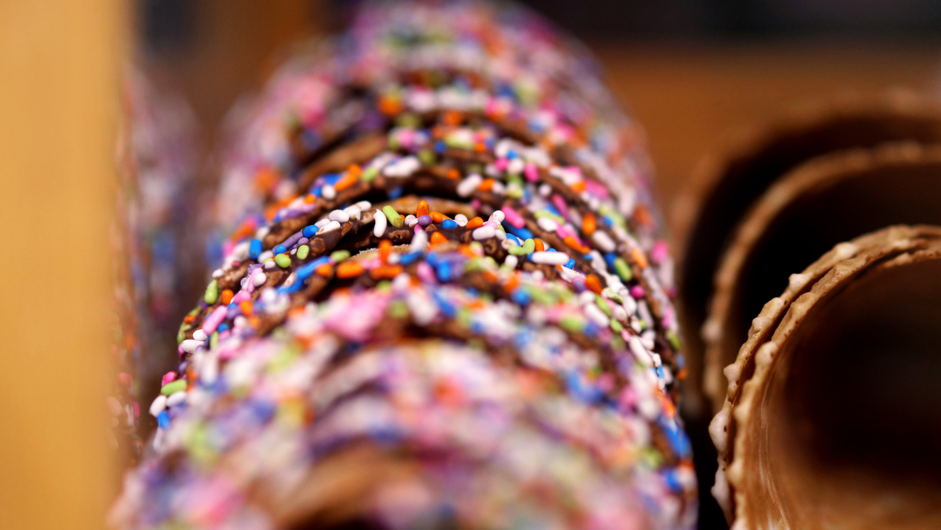 Rainbow Ice Cream Cone