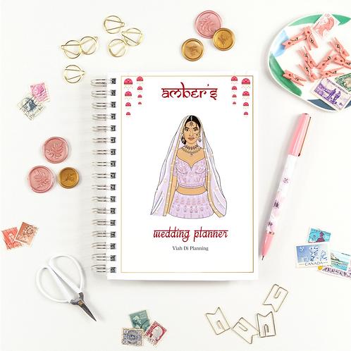 Lilac Sikh Bride Wedding Planner