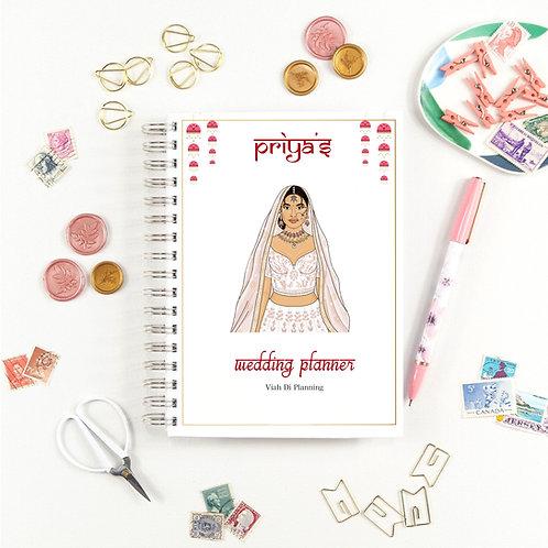 Baby Pink Sikh Bride Wedding Planner