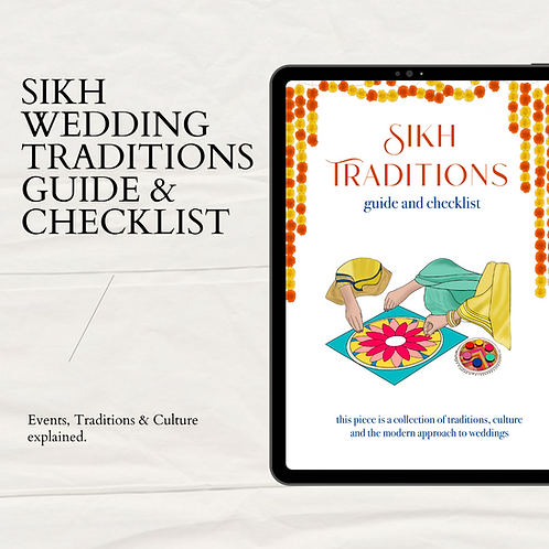 Sikh Traditions Guide & Checklist