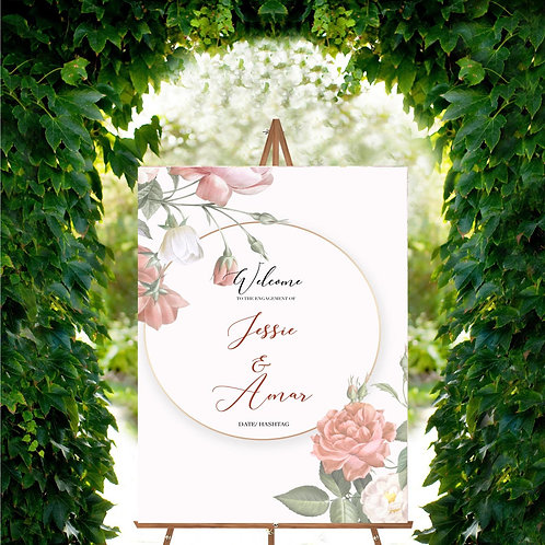 Anand Karaj Gurdwara Wedding Sign