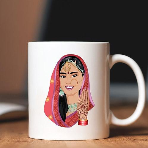 Indian Bride/Groom Mugs