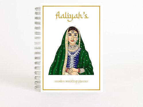 Muslim Wedding Planner Green Bride