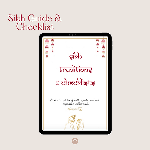 Digital Sikh Traditions Guide & Checklist