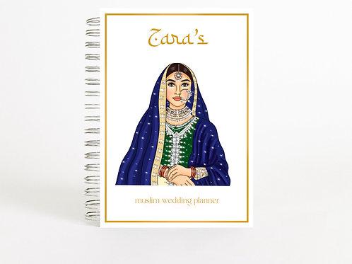 Muslim Wedding Planner Blue Bride