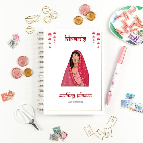 Pink Indian/Sikh Bride Wedding Planner