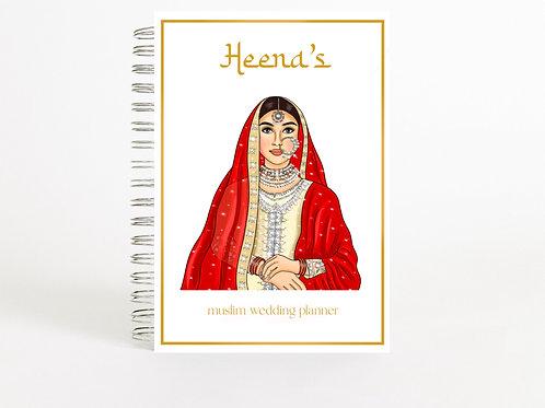 Muslim Wedding Planner Red Bride