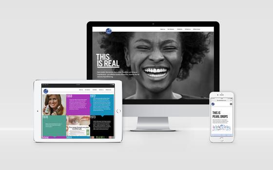 Pearl Drops Website