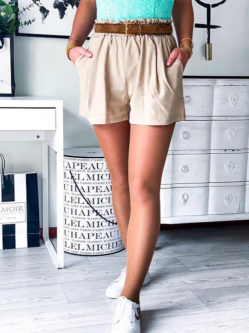 Short Lina beige