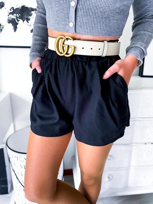 Short Lina noir
