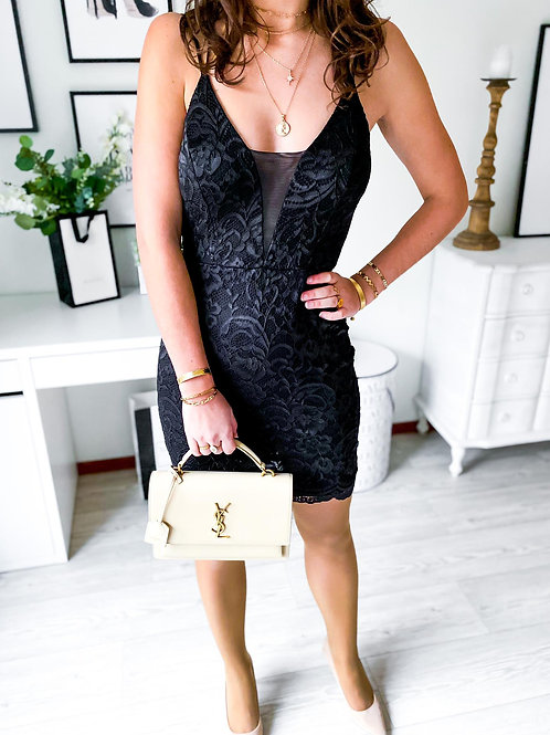 Robe Monica noire