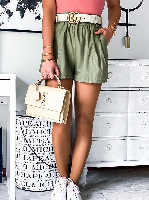 Short Lina kaki