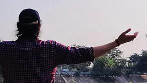 """Megastar Aazaad tributed """"Namaste Hindu Rashtra"""" to the holy motherland """"INDIA""""on 71st Republic Day"""
