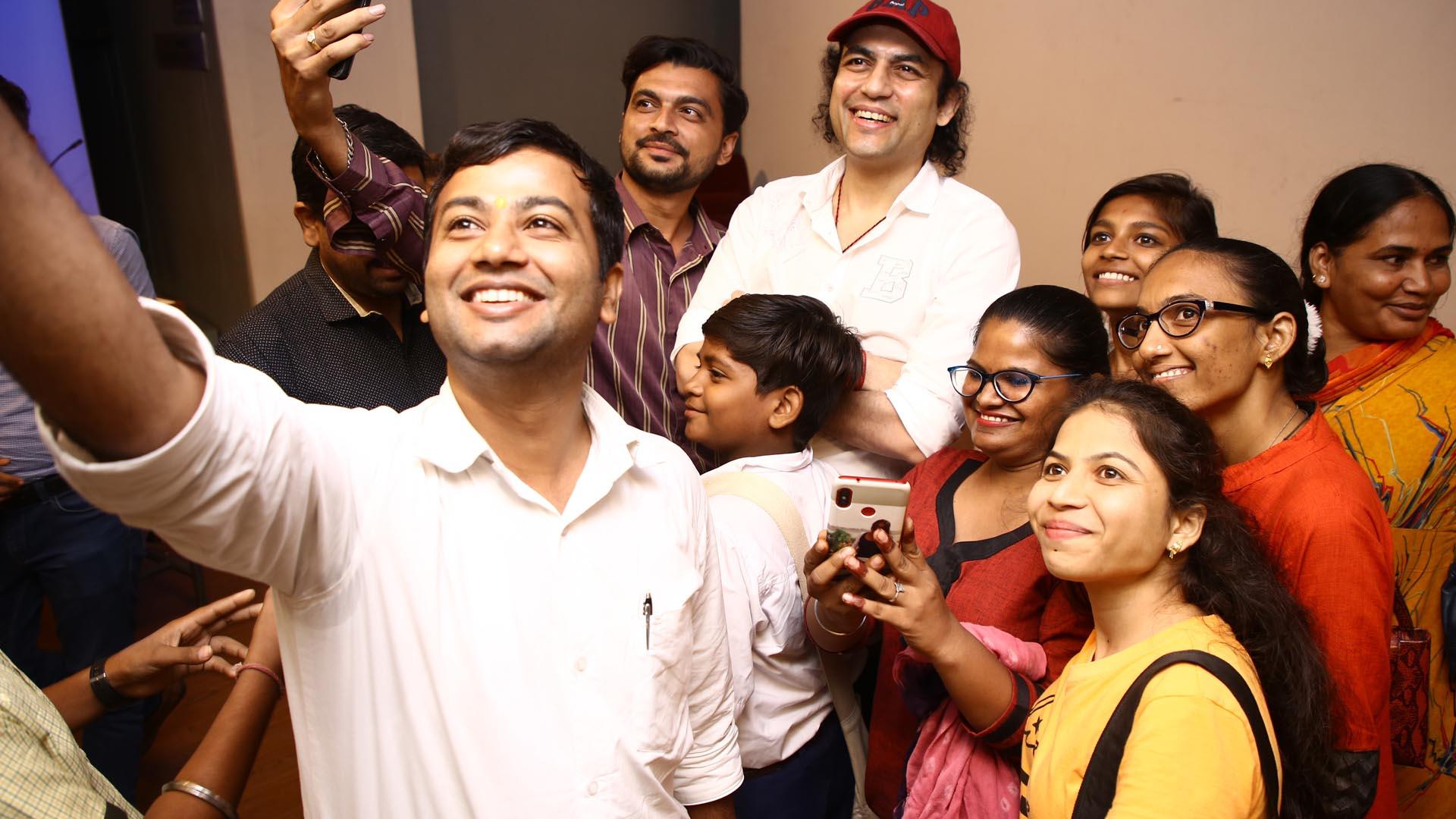 Megastar Aazaad at Ahmedabad